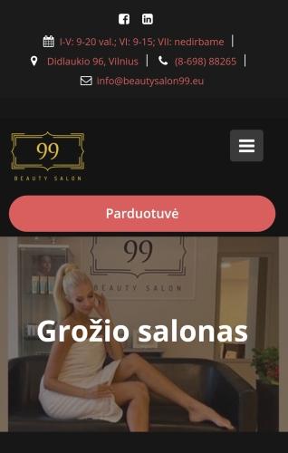 Screenshot salon21